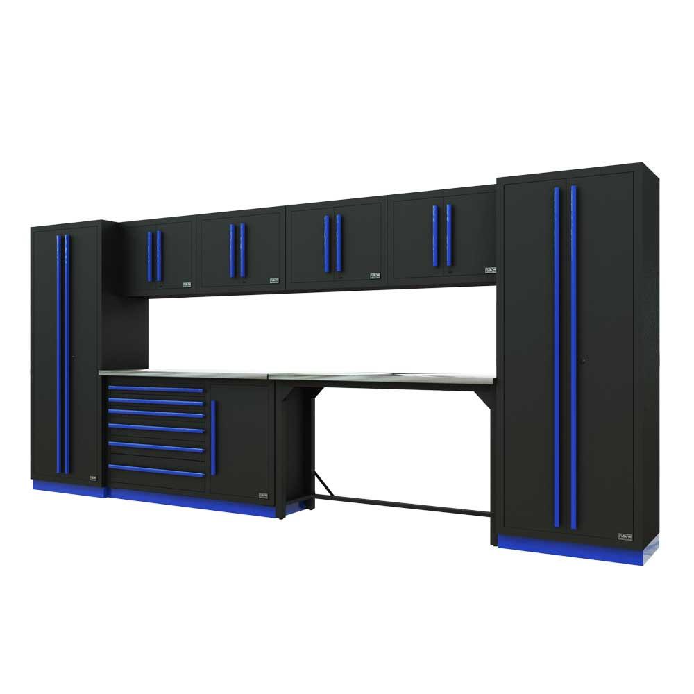 Proslat Fusion PRO 10 Piece Work Bench Set - Blue