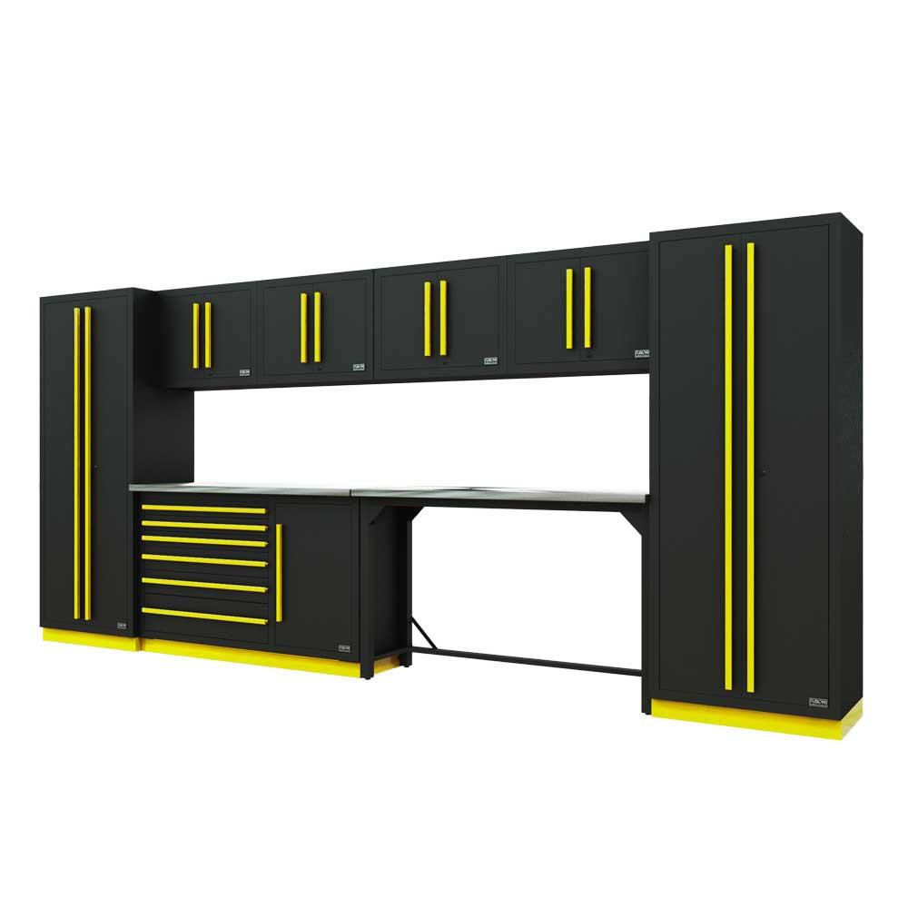 Proslat Fusion PRO 10 Piece Work Bench Set - Yellow