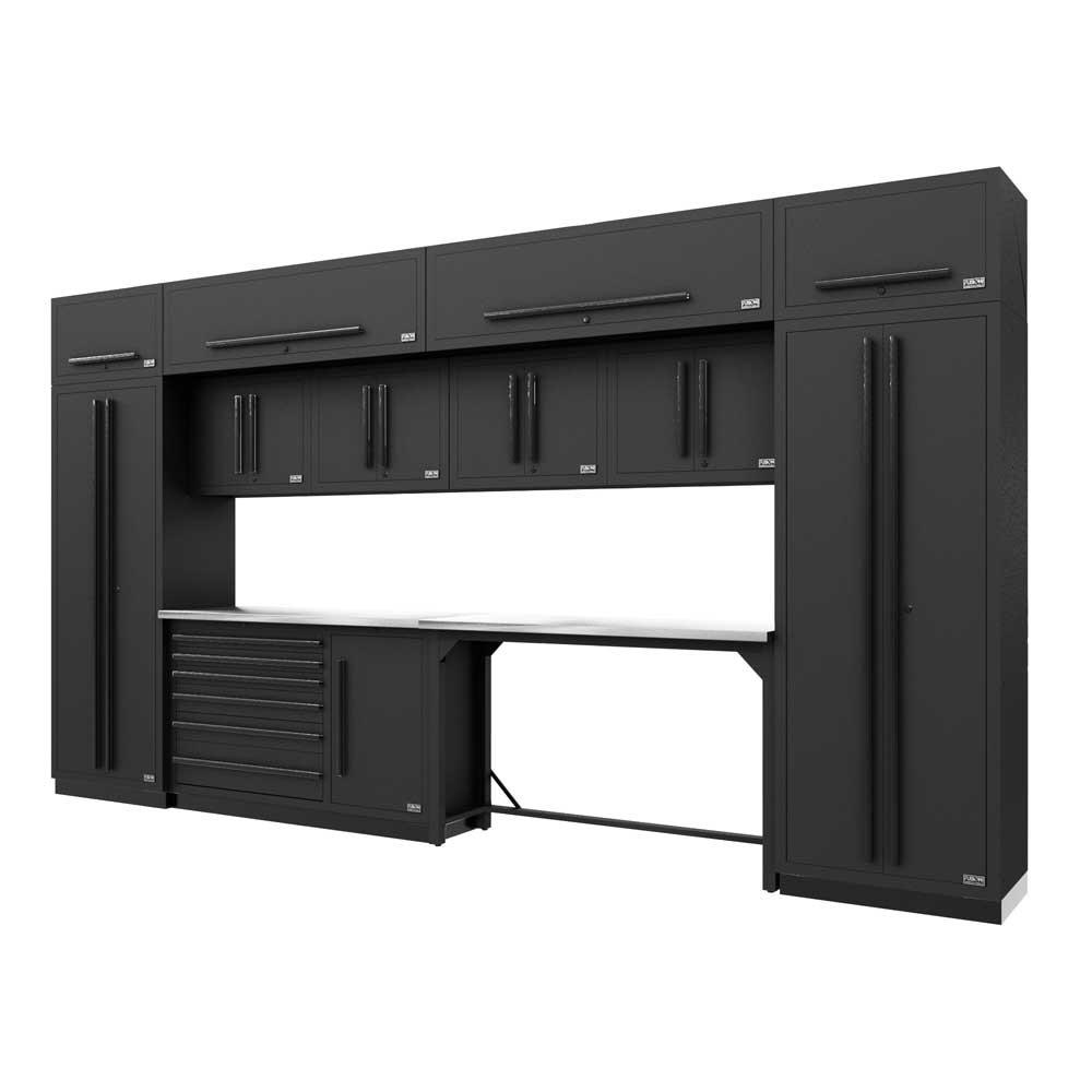 Proslat Fusion PRO 14 Piece Work Bench Set - Black