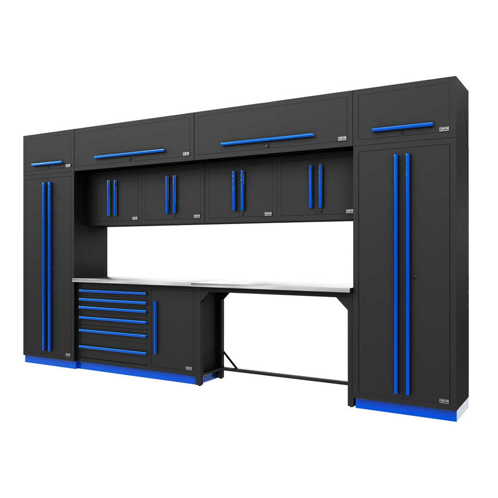 Proslat Fusion PRO 14 Piece Work Bench Set - Blue