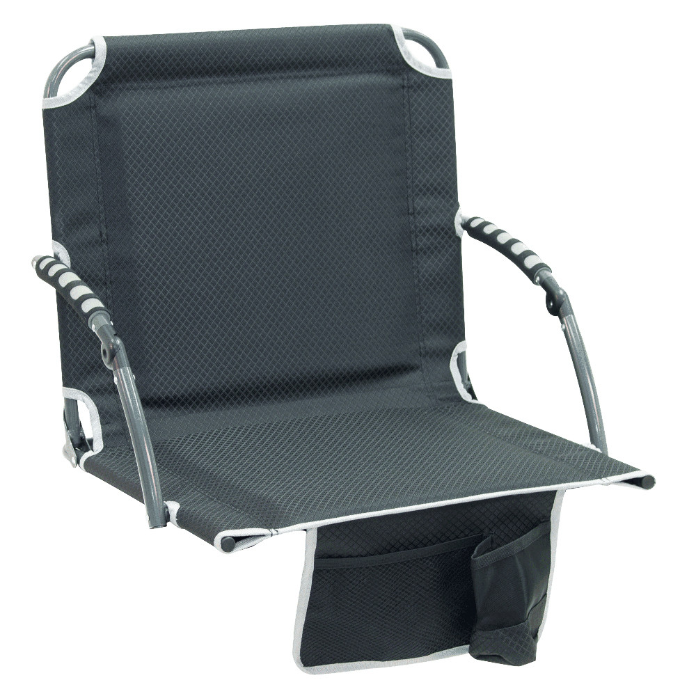 RIO Gear Bleacher Boss PAL Stadium Seat - Black