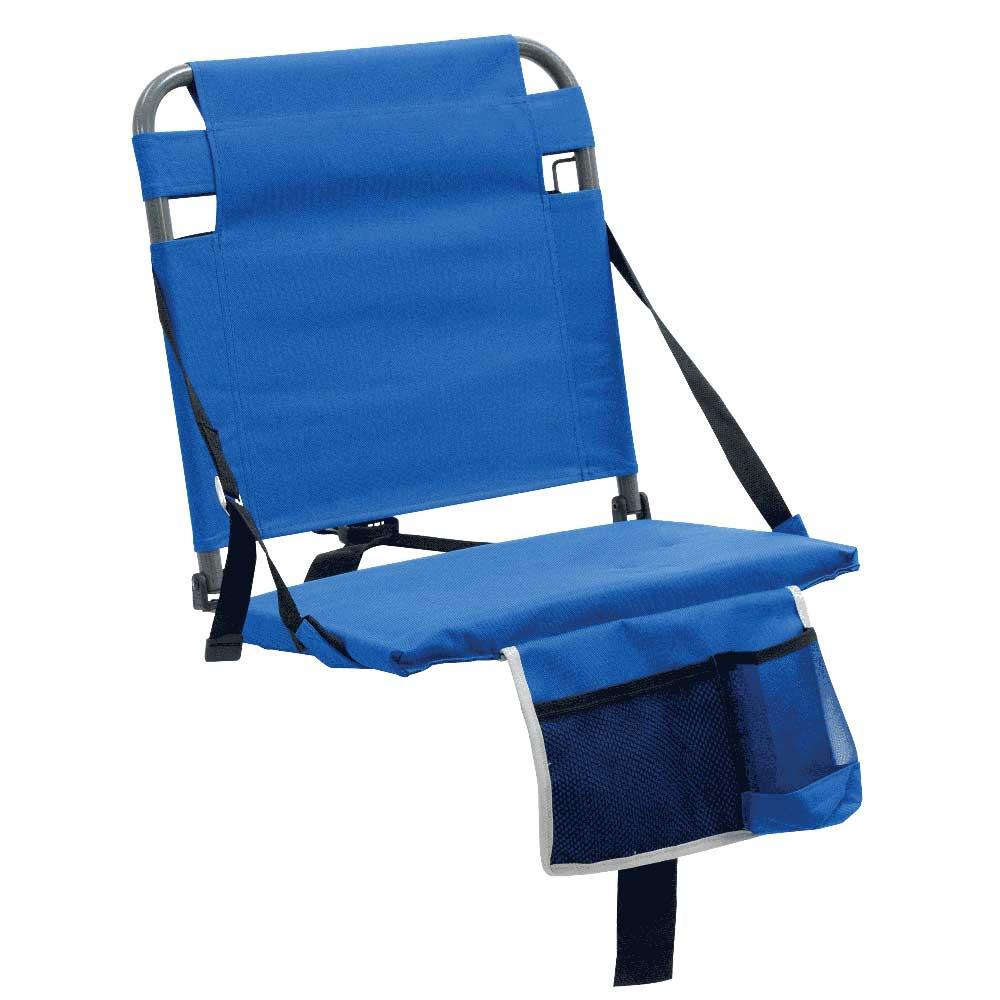 RIO Gear Bleacher Boss Companion Stadium Seat with Pouch - Blue