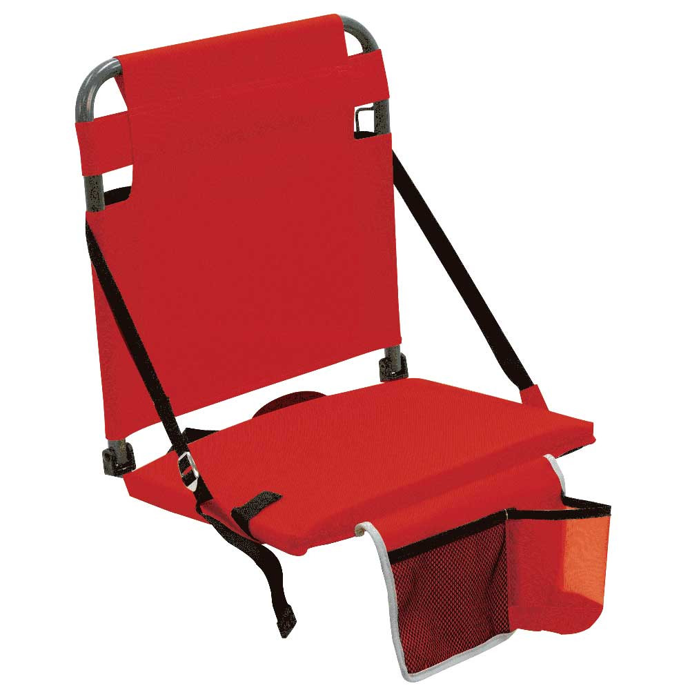 RIO Gear Bleacher Boss Companion Stadium Seat with Pouch - Red