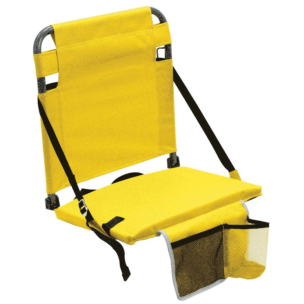 RIO Gear Bleacher Boss Companion Stadium Seat with Pouch - Yellow