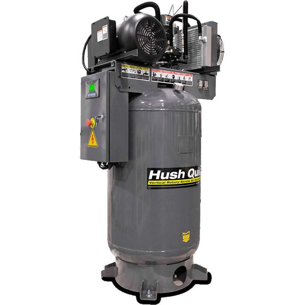 BendPak RS7580V‐601 7.5 HP Rotary-Screw Air Compressor / Vertical 80-Gallon Tank / 208-230V, 60HZ, 1-Phase