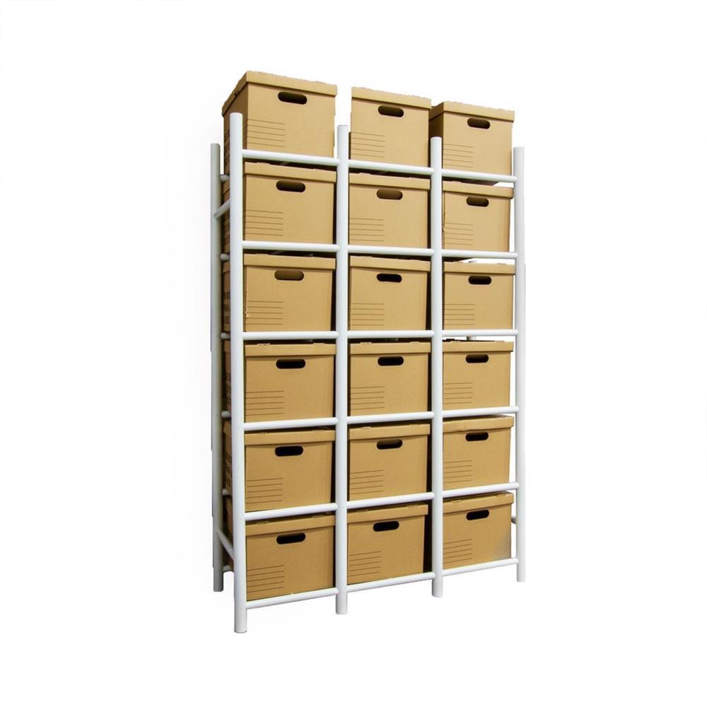 Proslat Bin Warehouse Rack  18 Filebox