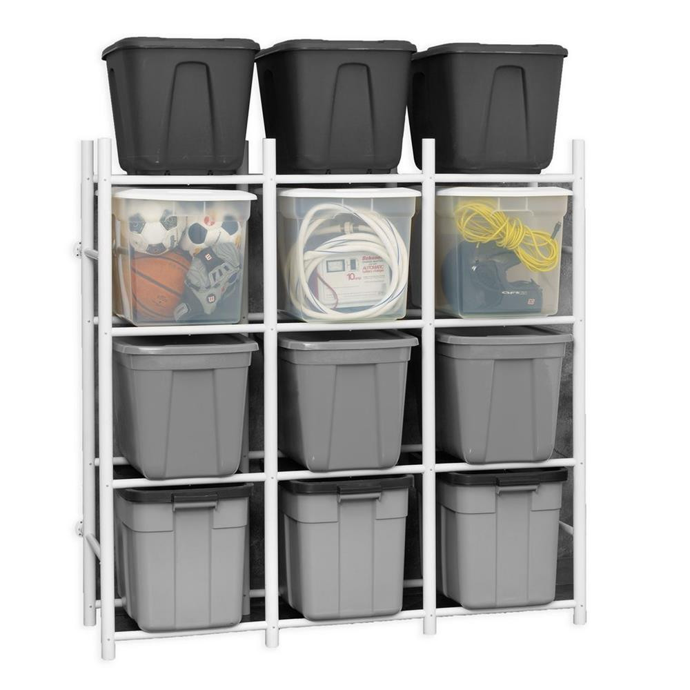 Proslat Bin Warehouse Rack - 12 Totes Compact