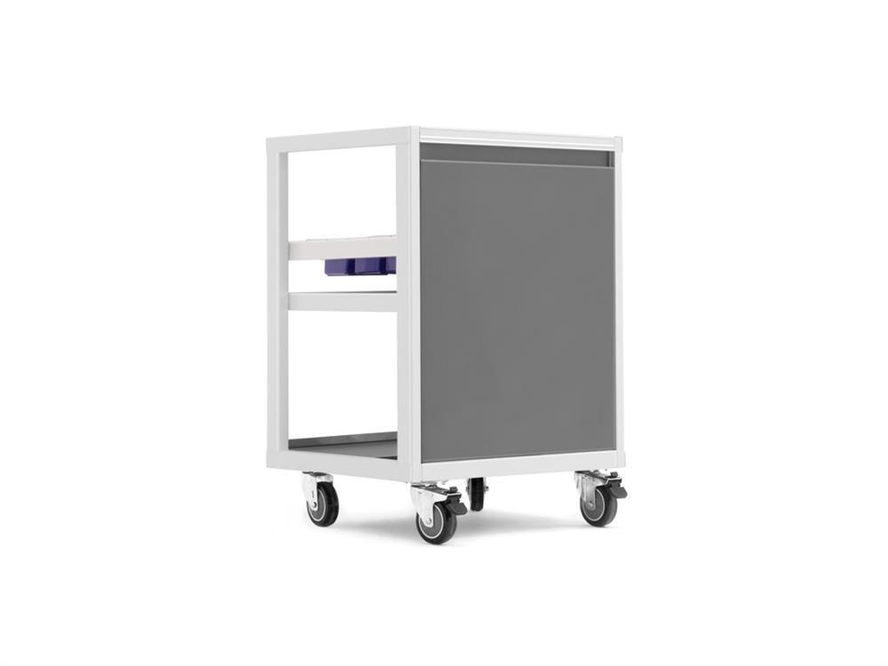 NewAge Pro 3.0 Mobile Utility Cart - White