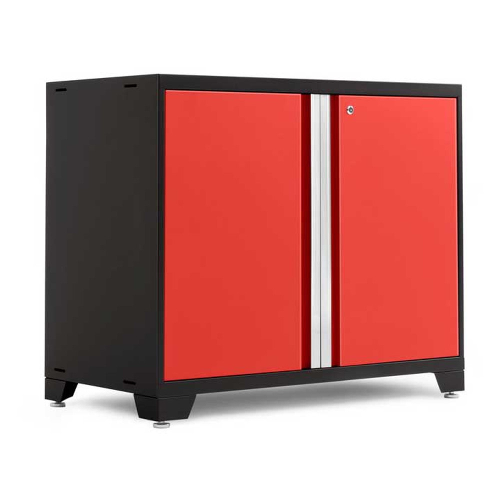 "NewAge Pro Series 3.0 Red 42"" 2-Door Base Cabinet"