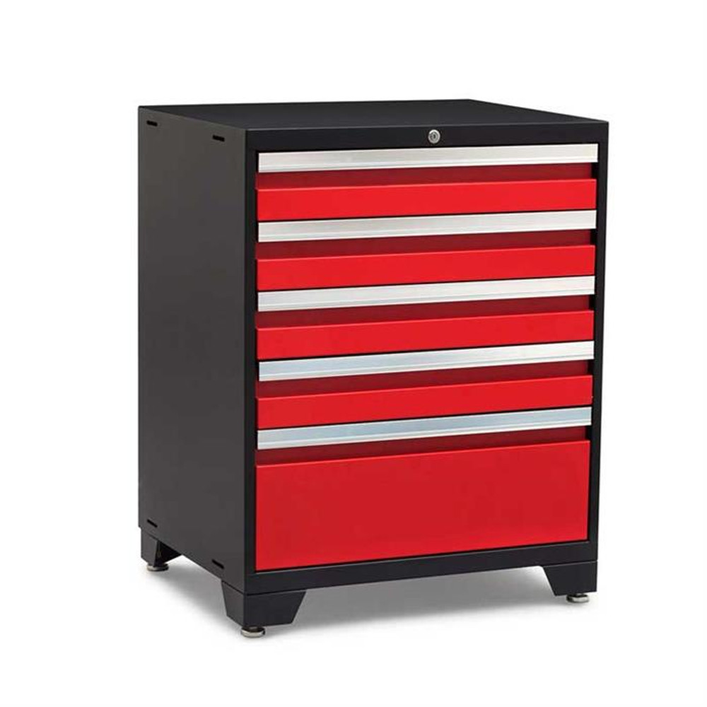 NewAge Pro Series 3.0 Red 5-Drawer Tool Cabinet