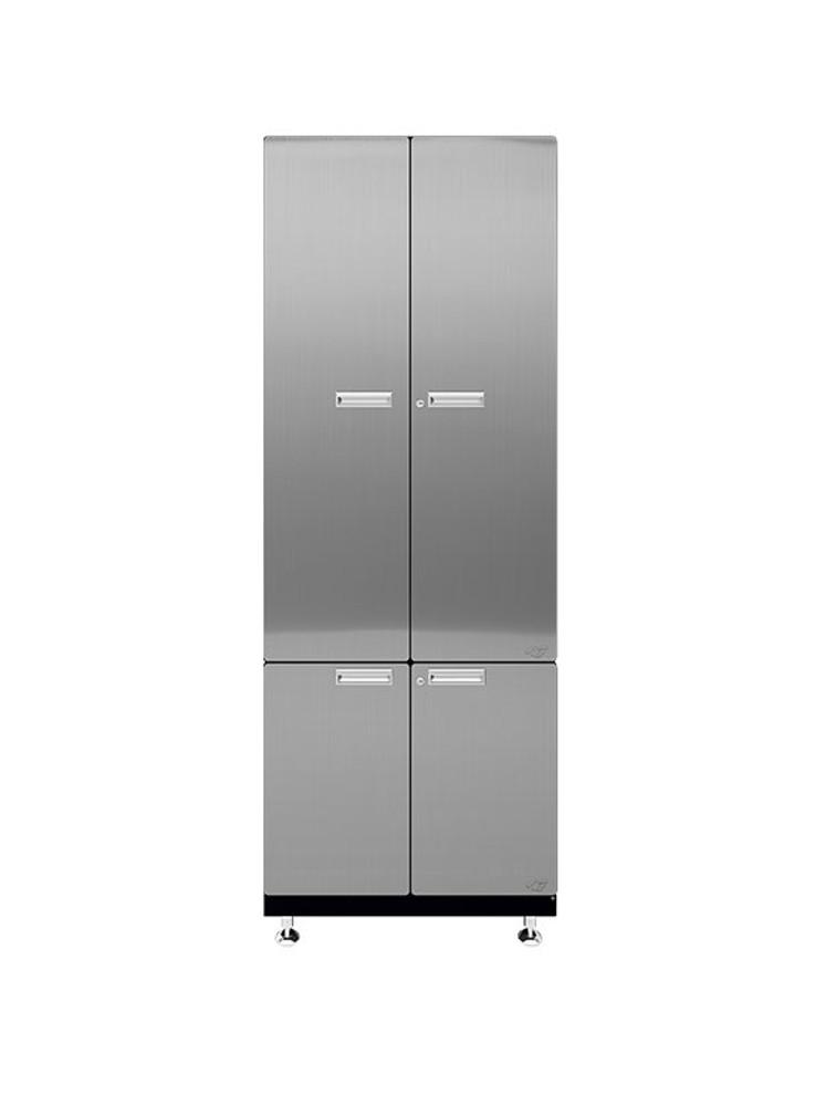 Hercke 1-Piece Stainless Steel Garage Cabinet Set