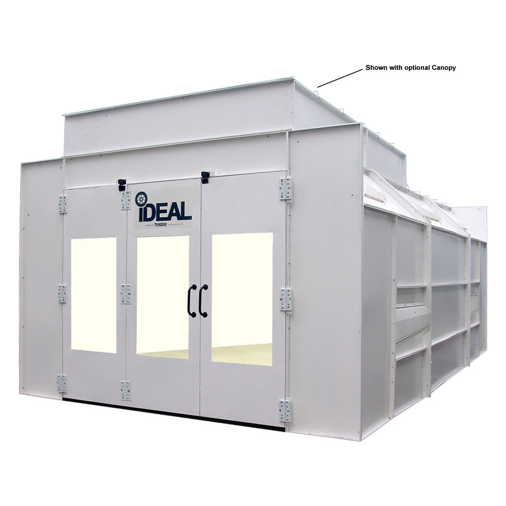 iDEAL Semi Down Draft Paint Booth