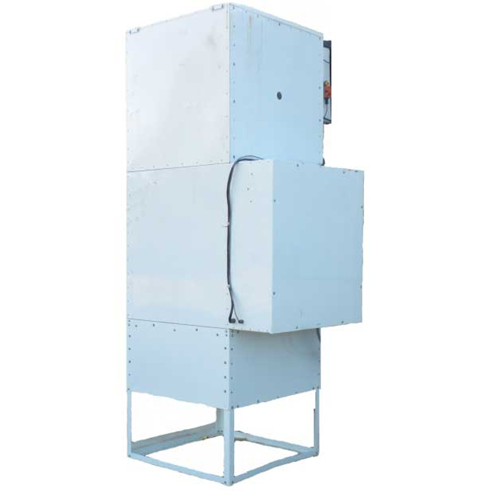 Rammstein Air RS-1001 Gas Fired Paint Booth Heater w/Filter Stand