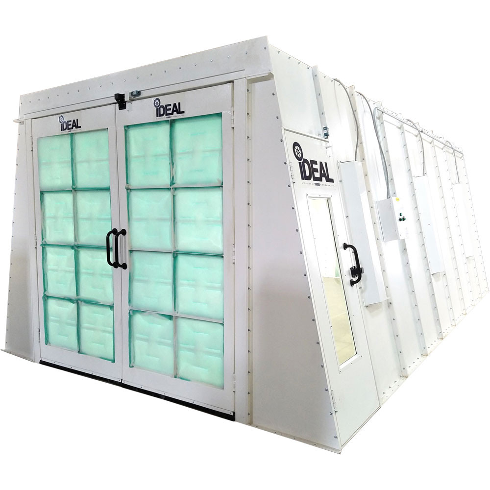 iDEAL Crossflow Paint Booth