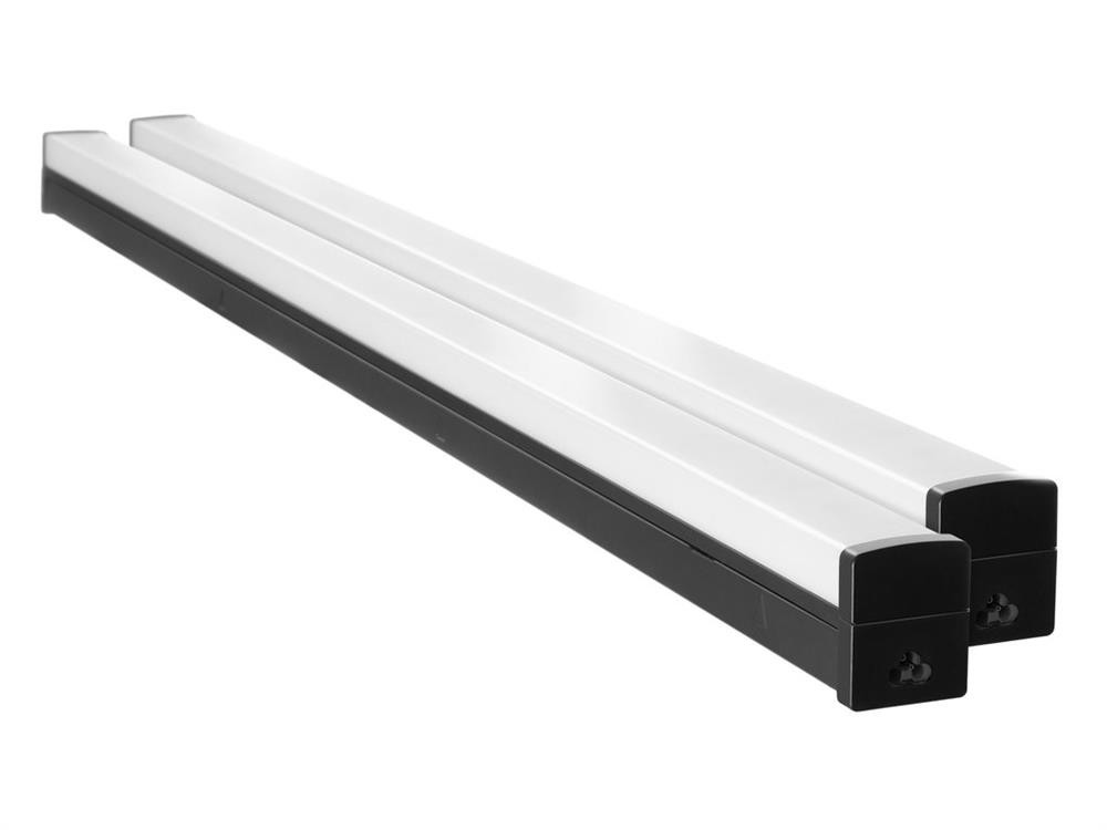 NewAge  Linkable LED Shop Lights - Black