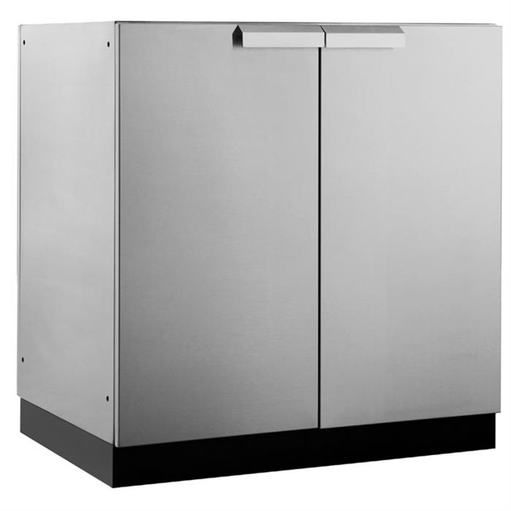 "NewAge Stainless Steel 32""W x 23""D 2-Door Cabinet"