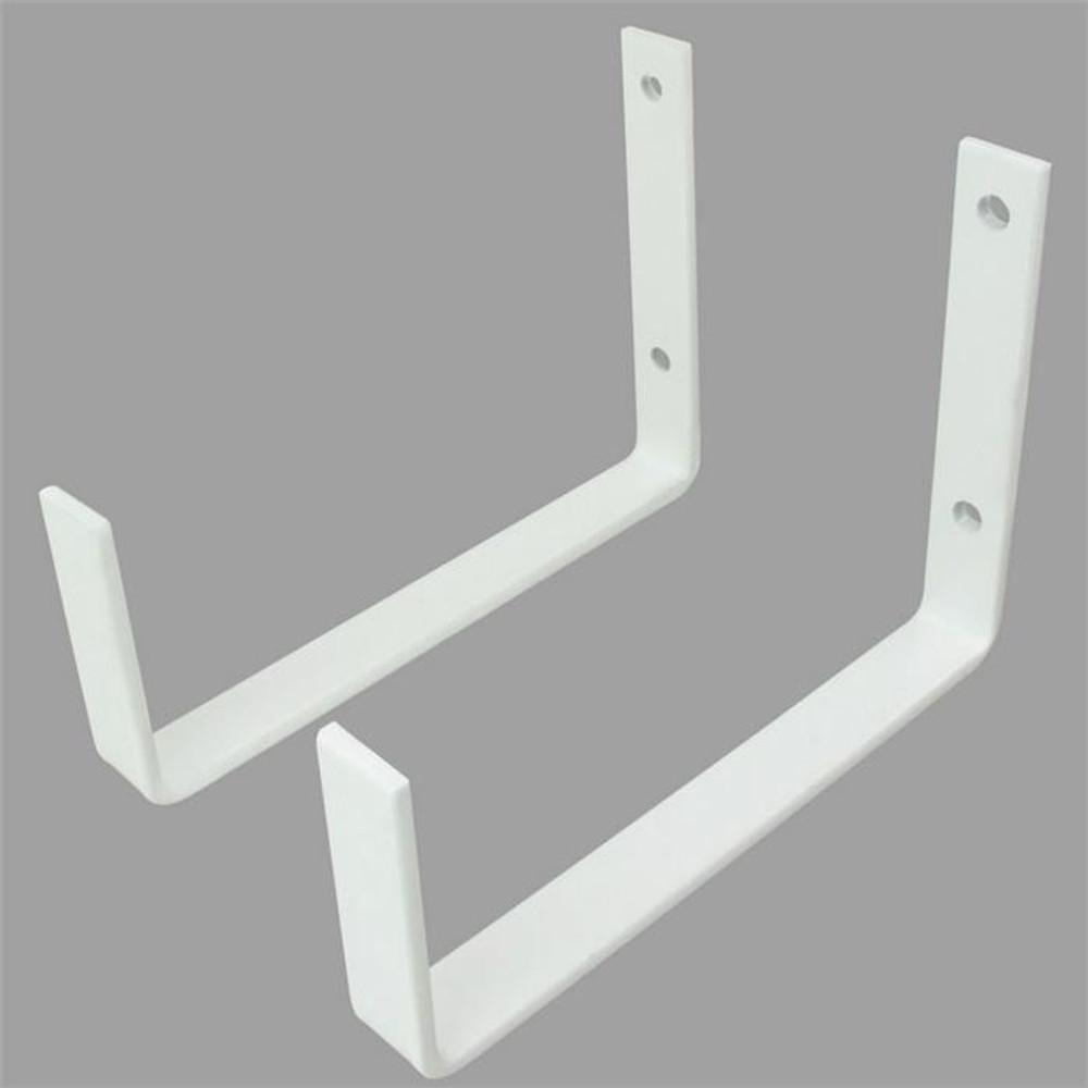SafeRacks Utility Hooks (2-Pack) - White