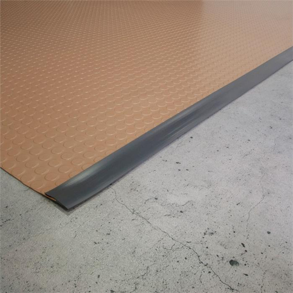 G-Floor Mat Edge Trim 25' - Slate Grey
