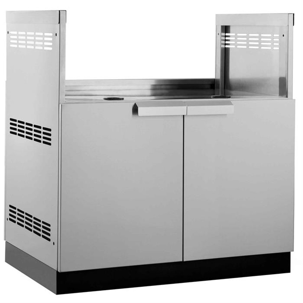 """NewAge Stainless Steel 33""""W x 23""""D Insert Grill Cabinet"""