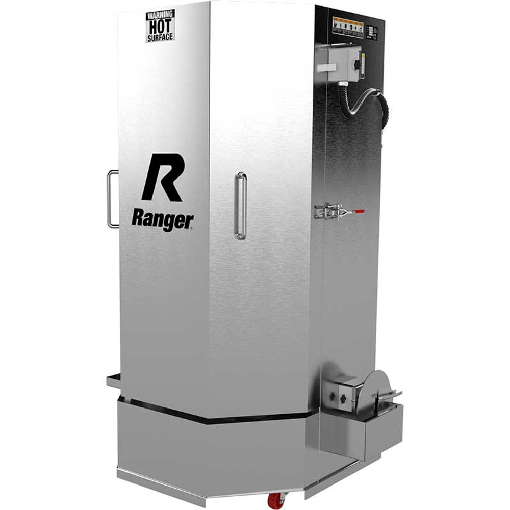 Ranger RS-750DS Stainless Steel  Spray Wash Cabinet / HD Truck Dual-Heaters / Low-Water Shutoff / 208-230V, 1-Phase, 60hz