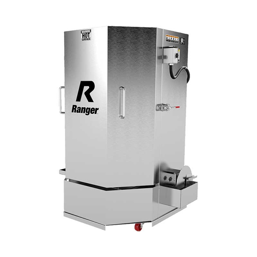 Ranger RS-500DS Stainless Steel Spray Wash Cabinet / Dual-Heaters / Low-Water Shutoff / 208-230V, 1-Phase, 60hz