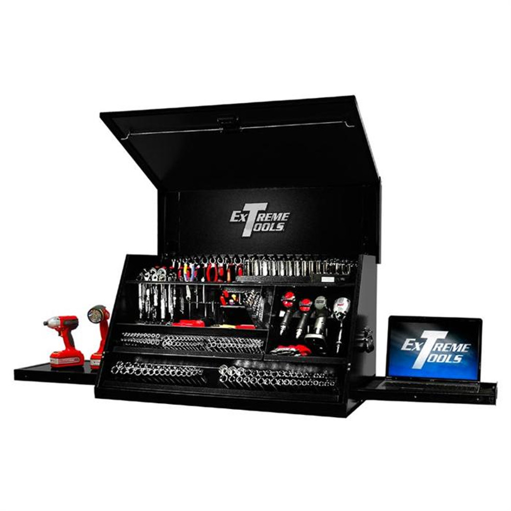 """Extreme Tools 41"""" Deluxe Portable Workstation - Black"""