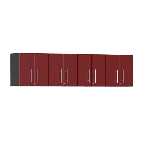 Ulti-MATE Garage 2.0 Series Red Metallic 4-Piece Wall Cabinet Kit
