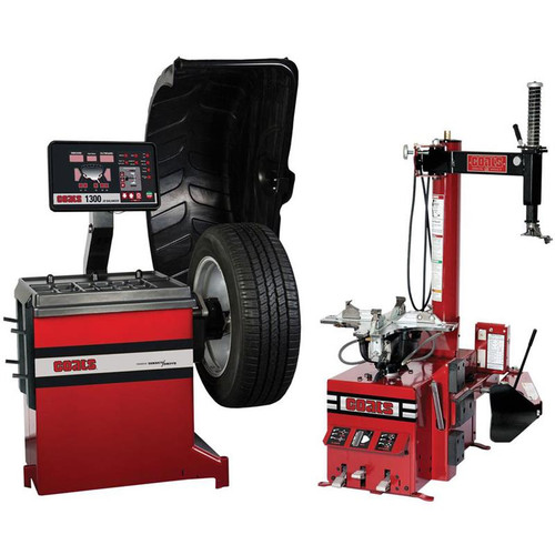 Coats RC-45 Rim Clamp Tire Changer + Coats 1300-2D Direct Drive Wheel Balancer Combo