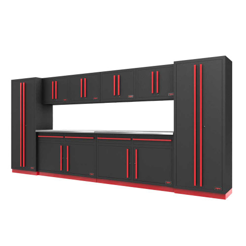 Proslat Fusion PRO 10 Piece Cabinet Set - Barrett-Jackson Red