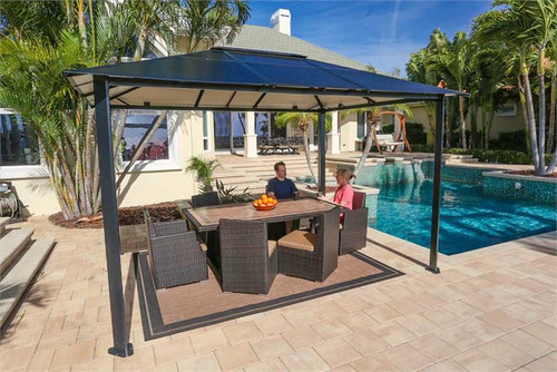 Paragon Outdoor Durham 10x13 Hard Top Gazebo