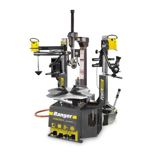 "Ranger R80EX Tilt Back / Dual-Tower Assist / 34"" Clamping Capacity - Yellow/Gray"