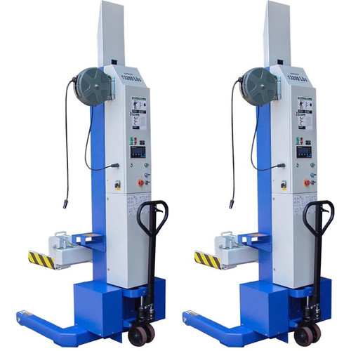 iDEAL MSC-13K-B-226 Mobile Column Lift, Two Column Set, 26,000 lbs.