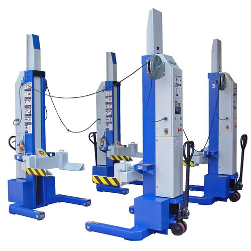 iDEAL MSC-13K-B-452 Mobile Column Lift, Four Column Set, 52,000 lbs.