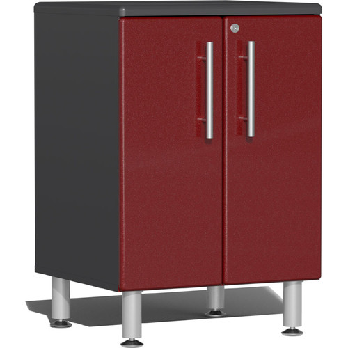 Ulti-MATE Garage 2.0 Series Red Metallic 2-Door Base Cabinet