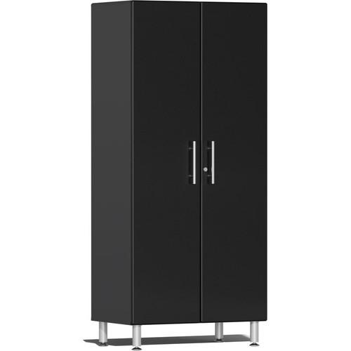 Ulti-MATE Garage 2.0 Series Black Metallic 2-Door Tall Cabinet