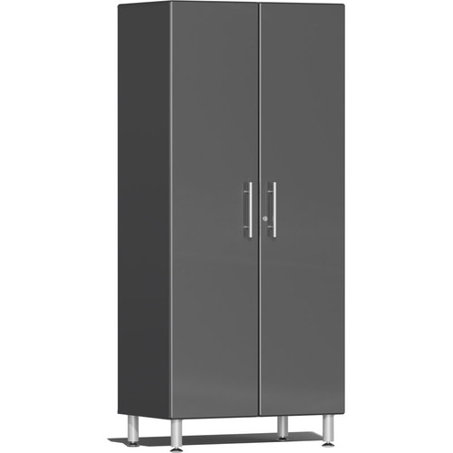 Ulti-MATE Garage 2.0 Series Grey Metallic 2-Door Tall Cabinet