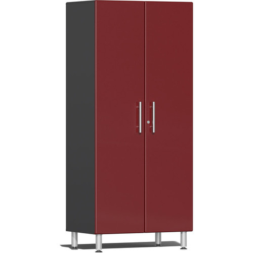 Ulti-MATE Garage 2.0 Series Red Metallic 2-Door Tall Cabinet
