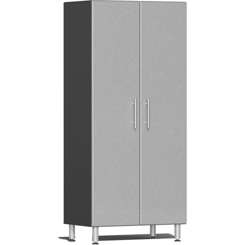 Ulti-MATE Garage 2.0 Series Silver Metallic 2-Door Tall Cabinet