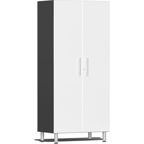 Ulti-MATE Garage 2.0 Series White Metallic 2-Door Tall Cabinet
