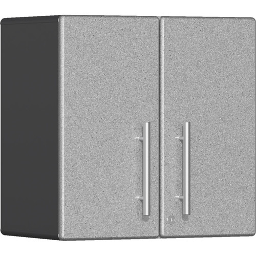 Ulti-MATE Garage 2.0 Series Silver Metallic 2-Door Wall Cabinet