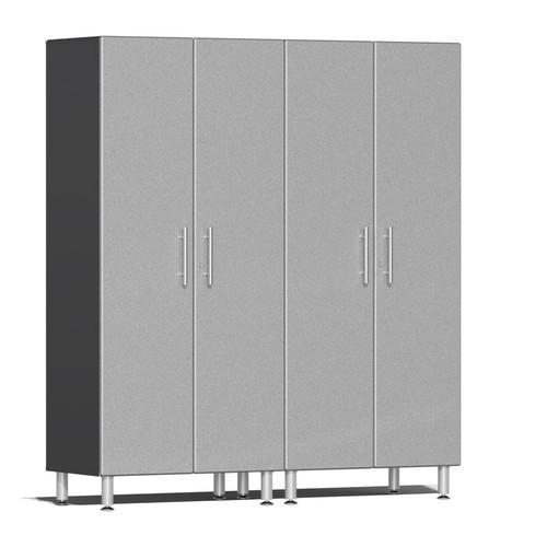 Ulti-MATE Garage 2.0 Series Silver Metallic 2-Pc Tall Cabinet Kit