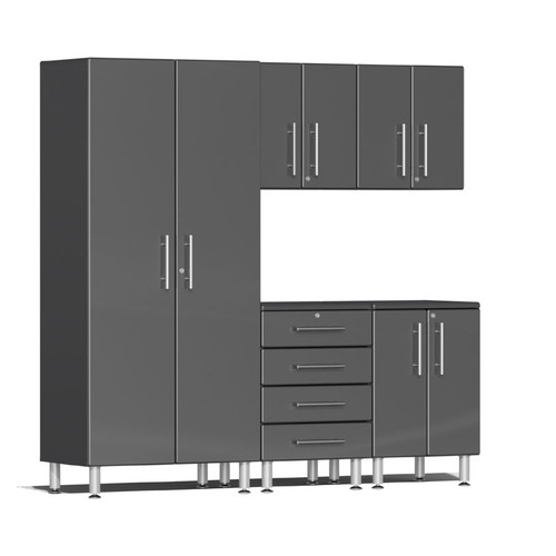 Ulti-MATE Garage 2.0 Series Grey Metallic 5-Piece Kit