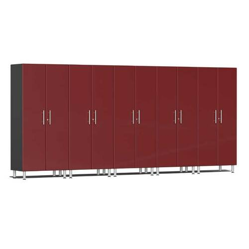 Ulti-MATE Garage 2.0 Series Red Metallic 5-Pc Tall Cabinet Kit