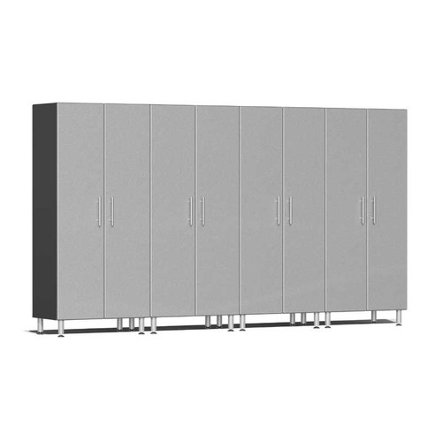 Ulti-MATE Garage 2.0 Series Silver Metallic 4-Pc Tall Cabinet Kit