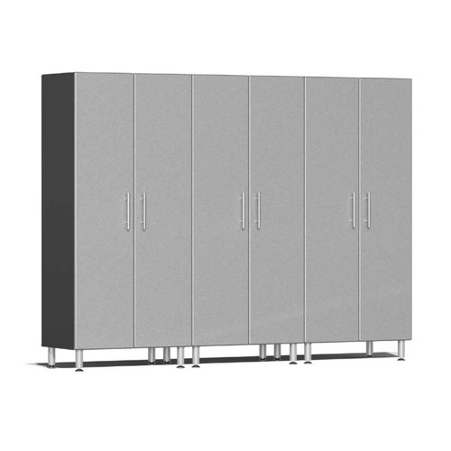 Ulti-MATE Garage 2.0 Series Silver Metallic 3-Pc Tall Cabinet Kit