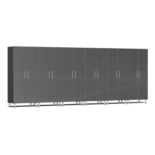 Ulti-MATE Garage 2.0 Series Grey Metallic 6-Pc Tall Cabinet Kit