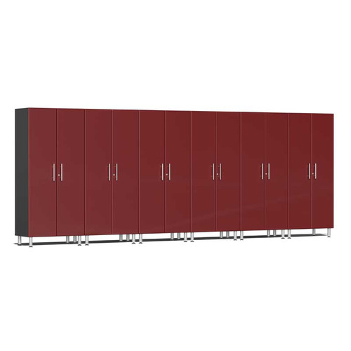 Ulti-MATE Garage 2.0 Series Red Metallic 6-Pc Tall Cabinet Kit