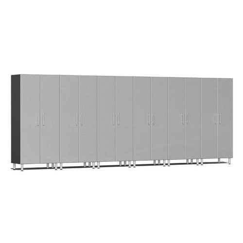 Ulti-MATE Garage 2.0 Series Silver Metallic 6-Pc Tall Cabinet Kit