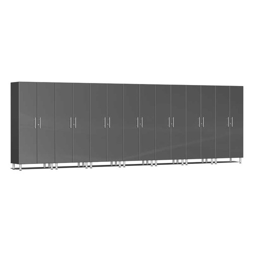 Ulti-MATE Garage 2.0 Series Grey Metallic 7-Pc Tall Cabinet Kit