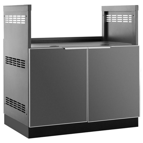 "NewAge Aluminum Slate 33""W x 23""D Insert Grill Cabinet"